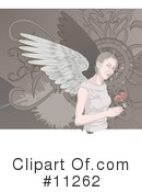Angel Clipart #11262 by AtStockIllustration