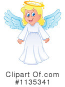 Royalty-Free (RF) Angel Clipart Illustration #1135341