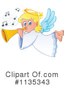 Royalty-Free (RF) Angel Clipart Illustration #1135343