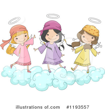 Angel Clipart #1193557 by BNP Design Studio