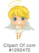 Royalty-Free (RF) Angel Clipart Illustration #1262472