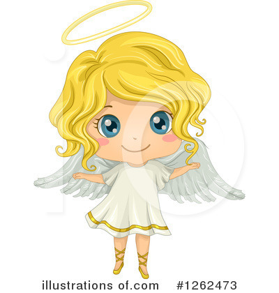 Royalty-Free (RF) Angel Clipart Illustration by BNP Design Studio - Stock Sample #1262473
