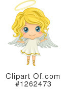 Royalty-Free (RF) Angel Clipart Illustration #1262473