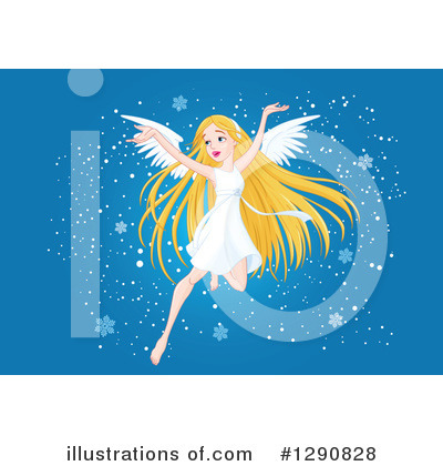Angel Clipart #1290828 by Pushkin