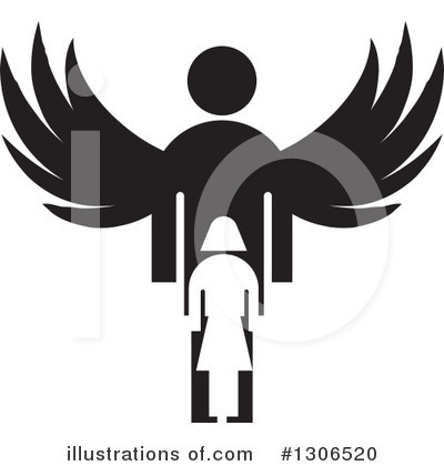 Guardian Angel Clipart #1306520 by Lal Perera