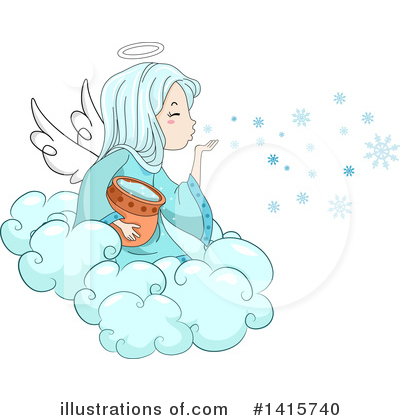 Snowflakes Clipart #1415740 by BNP Design Studio