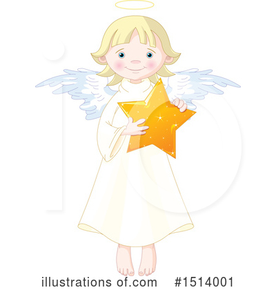 Angel Clipart #1514001 by Pushkin