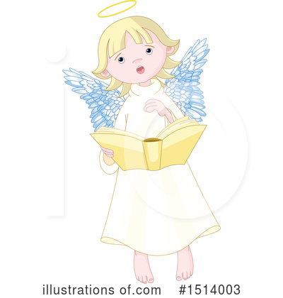 Royalty-Free (RF) Angel Clipart Illustration by Pushkin - Stock Sample #1514003
