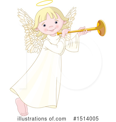 Angel Clipart #1514005 by Pushkin