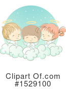 Angel Clipart #1529100 by BNP Design Studio