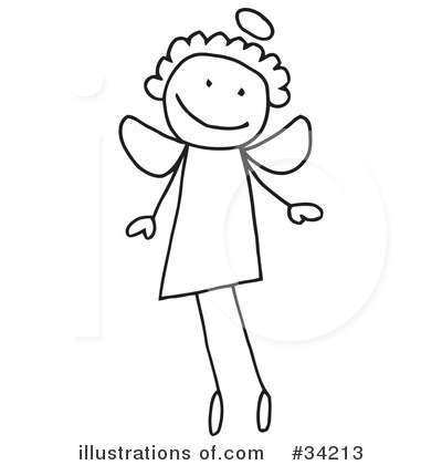 Stick People Clipart #34213 by C Charley-Franzwa