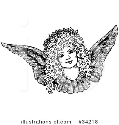 Angel Clipart #34218 by C Charley-Franzwa