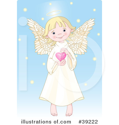 Angel Clipart #39222 by Pushkin