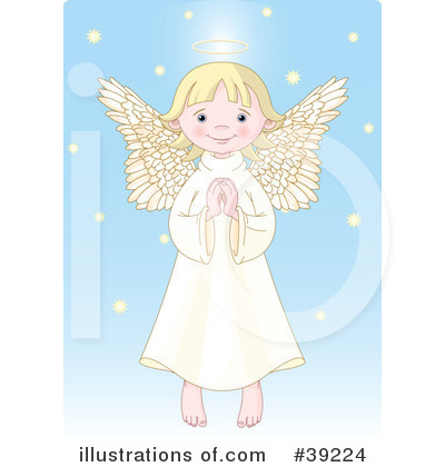 Angel Clipart #39224 by Pushkin