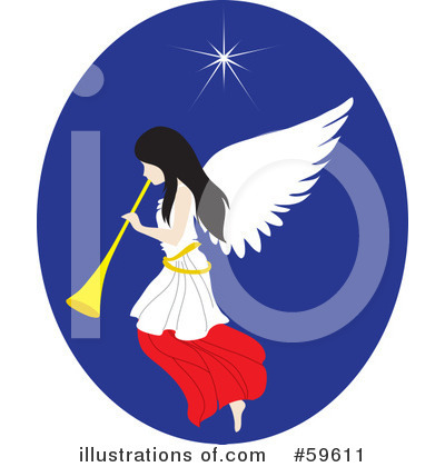 Angel Clipart #59611 by Rosie Piter