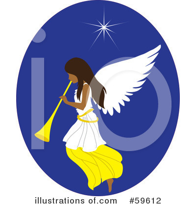 Angel Clipart #59612 by Rosie Piter