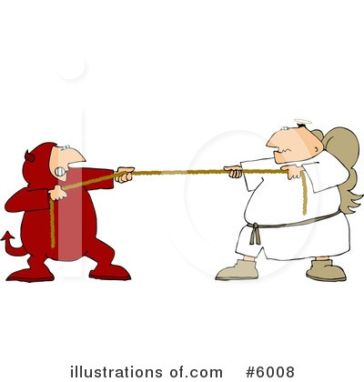 Tug Of War Clipart #6008 by djart