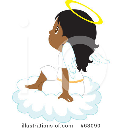 Royalty-Free (RF) Angel Clipart Illustration by Rosie Piter - Stock Sample #63090
