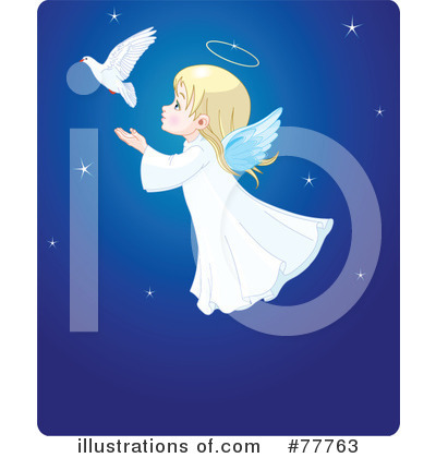 Angel Clipart #77763 by Pushkin