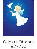 Royalty-Free (RF) Angel Clipart Illustration #77763