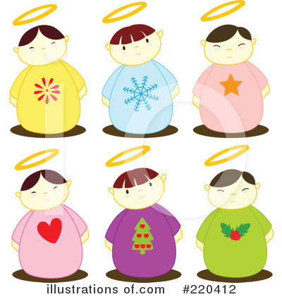 Royalty-Free (RF) Angels Clipart Illustration by Cherie Reve - Stock Sample #220412