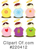 Angels Clipart #220412 by Cherie Reve