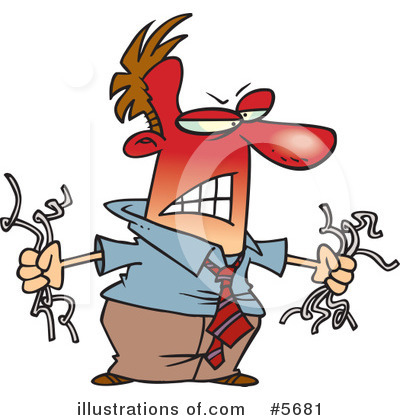 Anger Clipart #5681 by toonaday