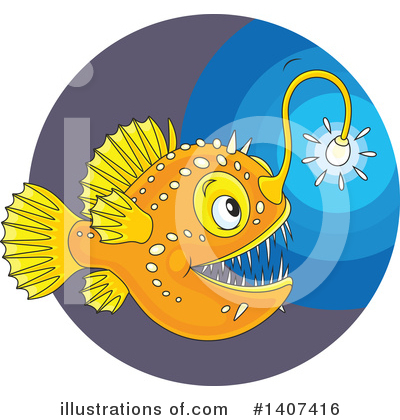 Fish Clipart #1407416 by Alex Bannykh
