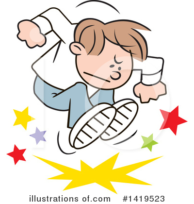 Boy Clipart #1419523 by Johnny Sajem