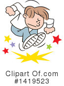 Royalty-Free (RF) Angry Clipart Illustration #1419523