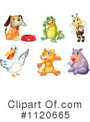 Royalty-Free (RF) animal Clipart Illustration #1120665