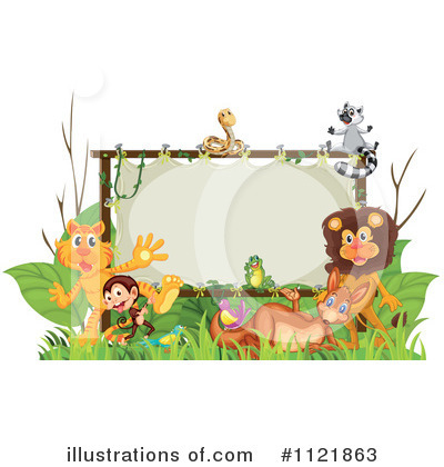 Zoo Animals Clipart #1121863 by Graphics RF