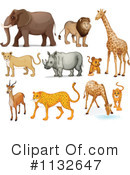 Animal Clipart #1132647 by Graphics RF