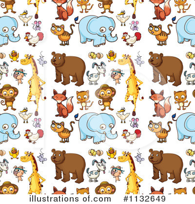 Elephant Clipart #1132649 by Graphics RF