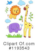 Animal Clipart #1193543 by BNP Design Studio