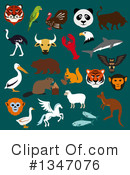 Royalty-Free (RF) Animal Clipart Illustration #1347076