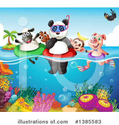 Panda Clipart #1385583 by Graphics RF
