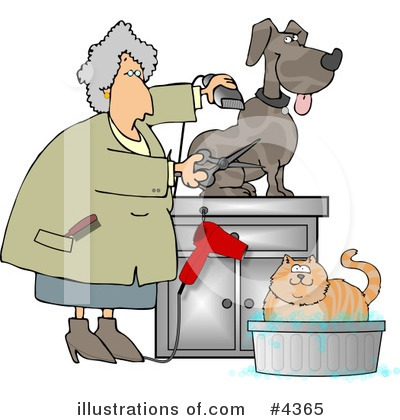 Veterinarian Clipart #4365 by djart