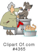 Royalty-Free (RF) Animal Clipart Illustration #4365