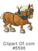 Royalty-Free (RF) Animal Clipart Illustration #5596