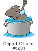 Royalty-Free (RF) Animal Clipart Illustration #6231
