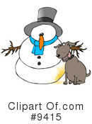 Royalty-Free (RF) Animal Clipart Illustration #9415