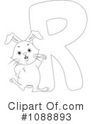Royalty-Free (RF) Animal Letters Clipart Illustration #1088893