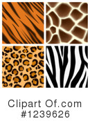 Royalty-Free (RF) Animal Print Clipart Illustration #1239626