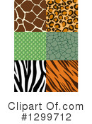 Royalty-Free (RF) Animal Print Clipart Illustration #1299712