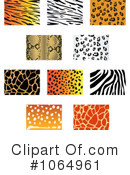 Animal Prints Clipart #1064961