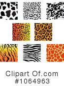 Animal Prints Clipart #1064963