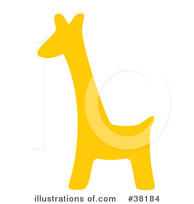 Giraffe Clipart #38184 by Alex Bannykh