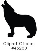Animal Silhouettes Clipart #45230 by JR
