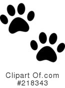 Animal Tracks Clipart #218343